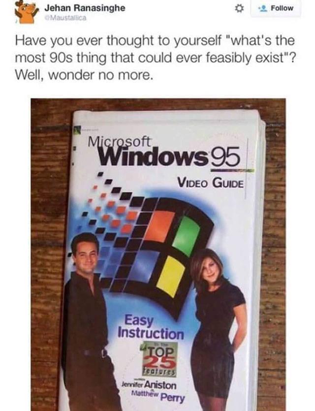 Warning! Nostalgia Incoming!