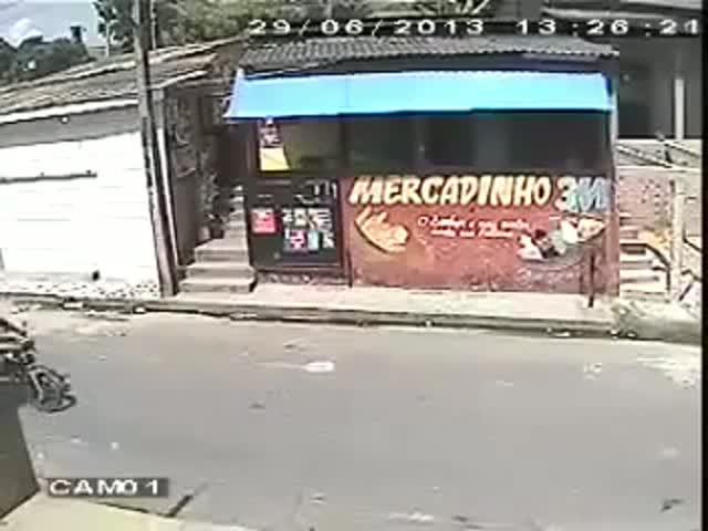 Robbery Attempt: A Bit Unsuccessful
