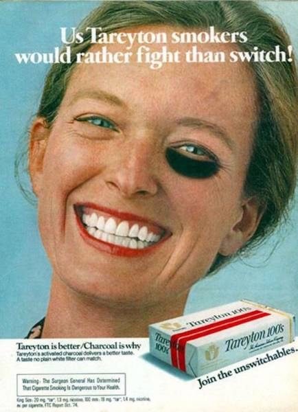 Vintage Advertisers Simply Didn't Give A F##k