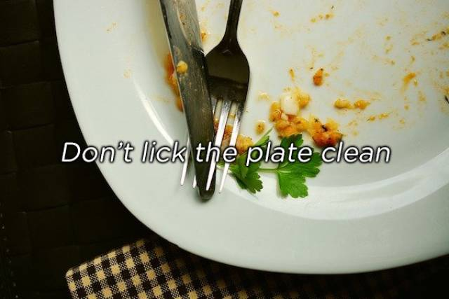 Every Country Has Its Own Weird Eating Etiquette