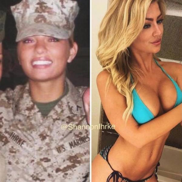 Military Calendar Will Look So Much Better With Shannon Ihrke Stripping For It