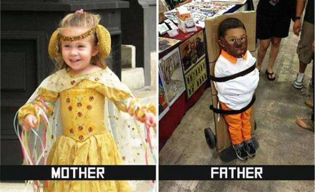 Parenting: Mom Edition Vs. Dad Edition