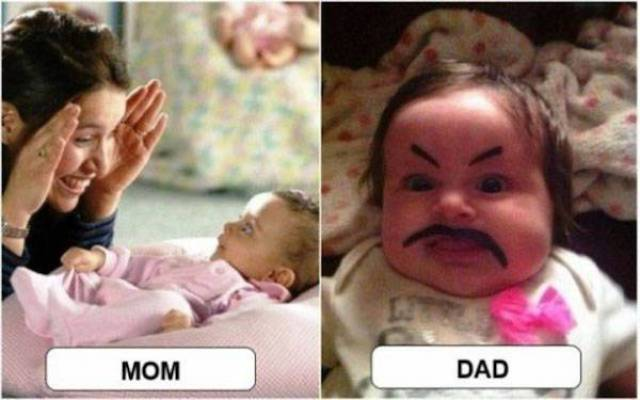 Parenting: Mom Edition Vs. Dad Edition