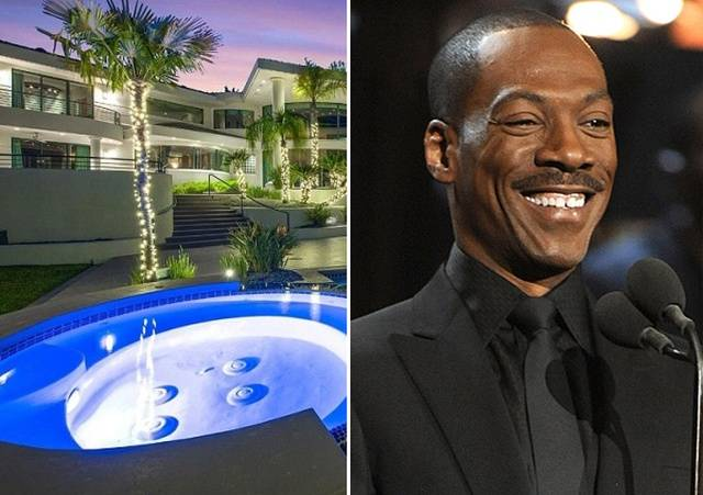 Take A Look At Eddie Murphy's $10 Million Northern California Mansion That's Currently On Sale
