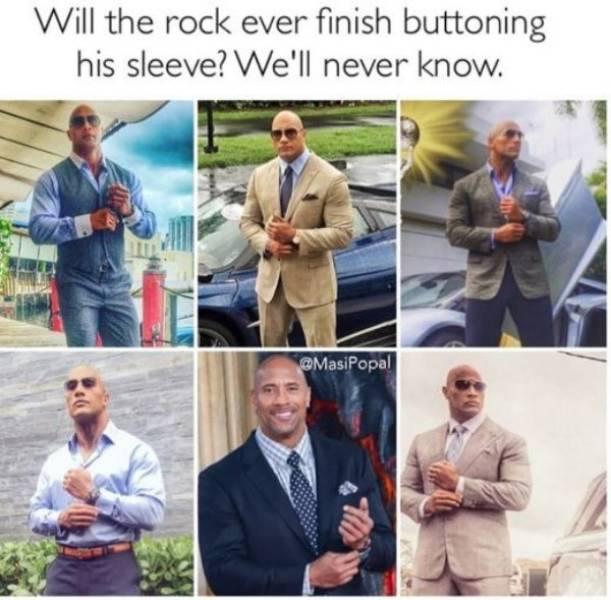 These Dwayne Johnson Memes Are Hard As A Rock