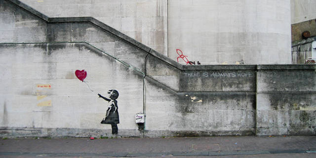 """Banksy's """"Girl With Balloon"""" Is Sold For $1M, But That's Where Banksy Does His Trick"""