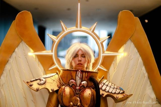 Celestine From Warhammer 40,000 Couldn't Have Been Cosplayed Better