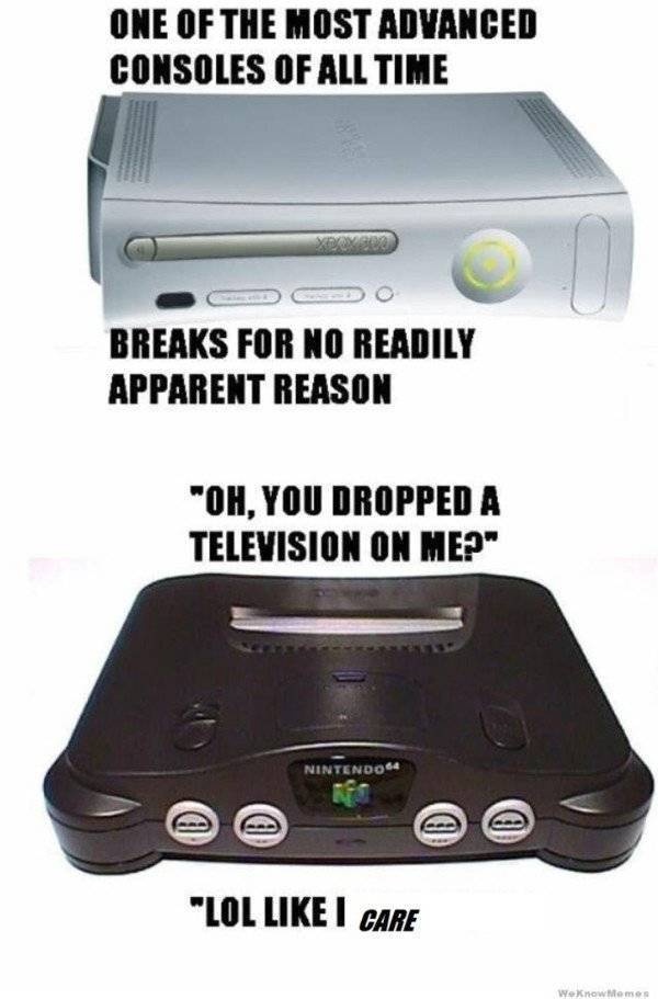 Nintendo Memes For Real Old Schoolers