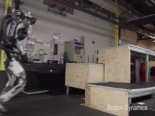 Robots Can Now Do Parkour!