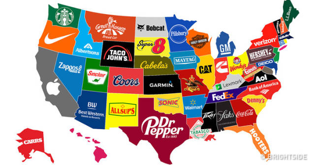 These Interesting Maps Tell Us A Lot About The United States ...