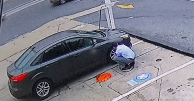 It Is Dangerous When A Tire Explodes While It's Still On A Car