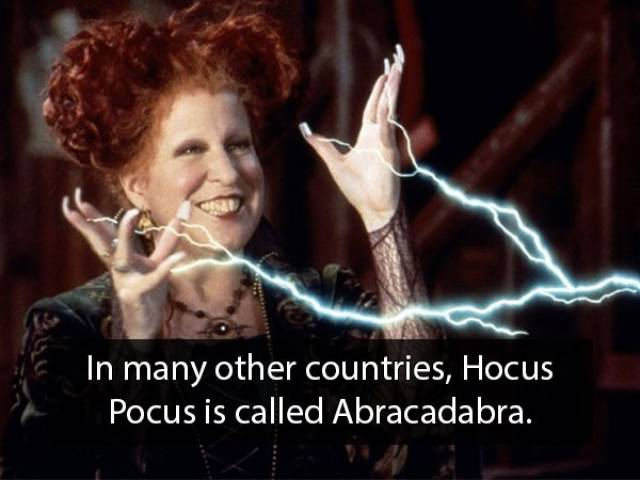 "Boo, Here Are Some ""Hocus Pocus"" Facts"