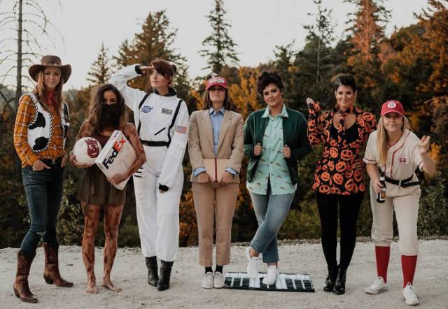This Group Of Girl Friends Has The Best Idea For Halloween Costumes