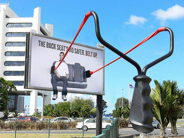 Outdoor Advertising Doesn't Have Any Bounds