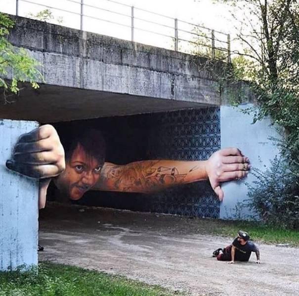 Street Art That Is Definitely Not Vandalism