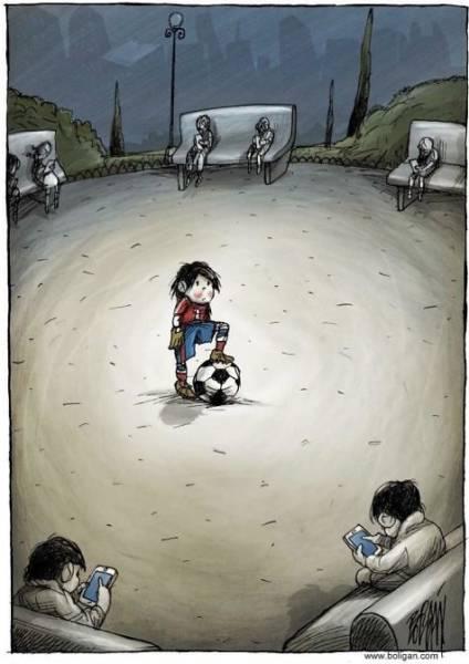 Angel Boligán Is A Master Of Satirical Cartoons