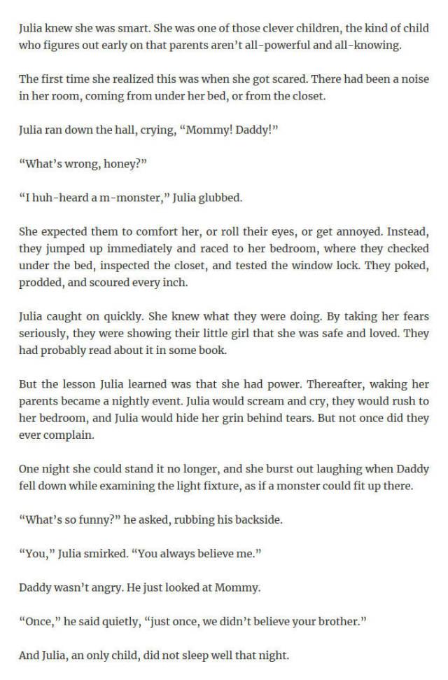 Reddit child stories