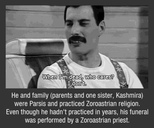 Mama, Freddy Mercury Facts!