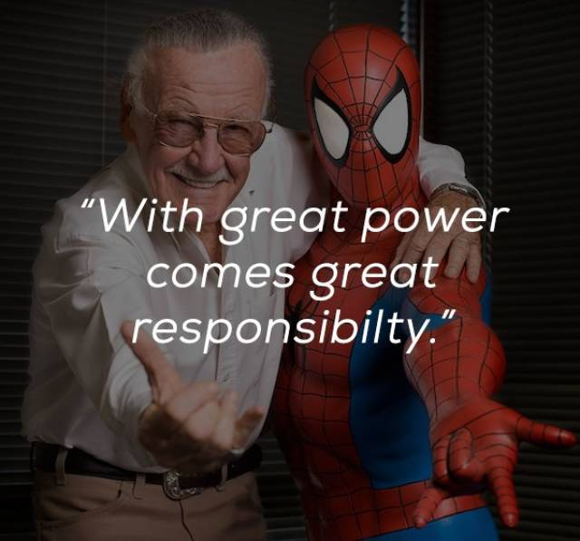 Farewell, Stan Lee, Your Words Will Be Remembered