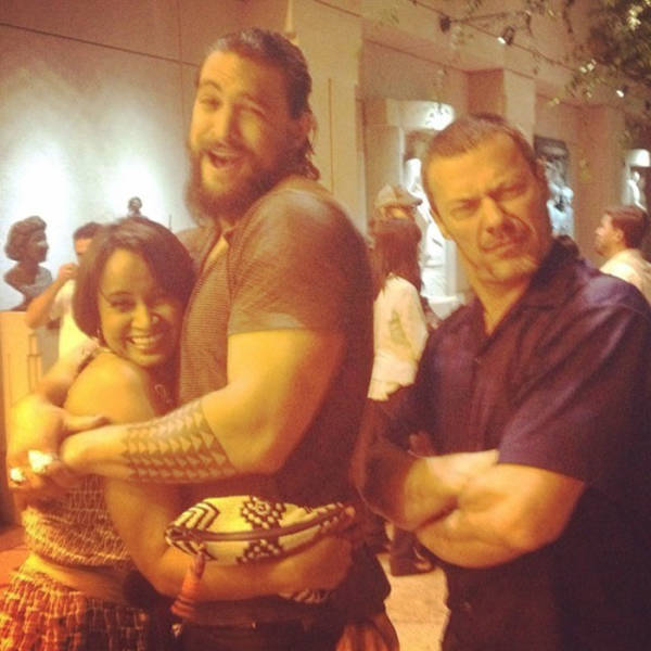 Jason Momoa Pink: Jason Momoa Absolutely Loves Stealing Women From Their SO