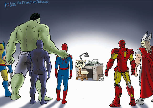 Absolutely Breathtaking Tributes To Stan Lee