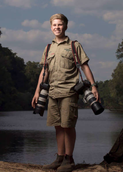 Steve Irwin's Son, Robert, Is An Award Winning Wildlife Photographer At The Age Of Just 14!