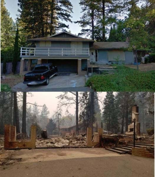 What Wildfire Has Done To California
