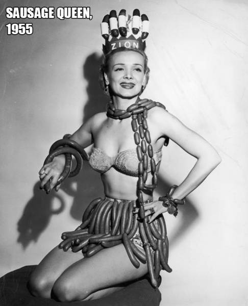 Beauty Pageant Queens Of Food Industry Is Something You Never Knew Existed Back In The Day