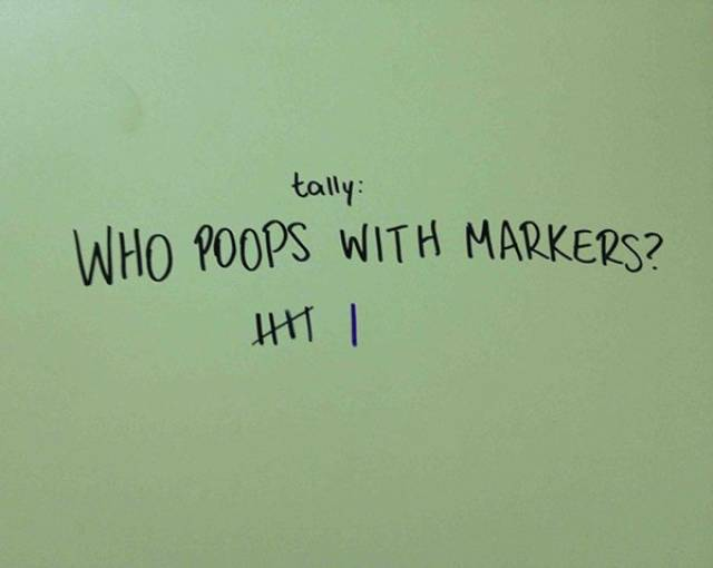 The Crappiest Humor Lives In Bathroom Stalls