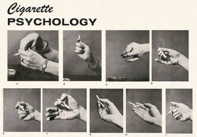 What Your Smoking Style Could Say About You Back In The 1959
