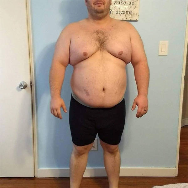 He Went From Neglected Body To Losing Half His Weight