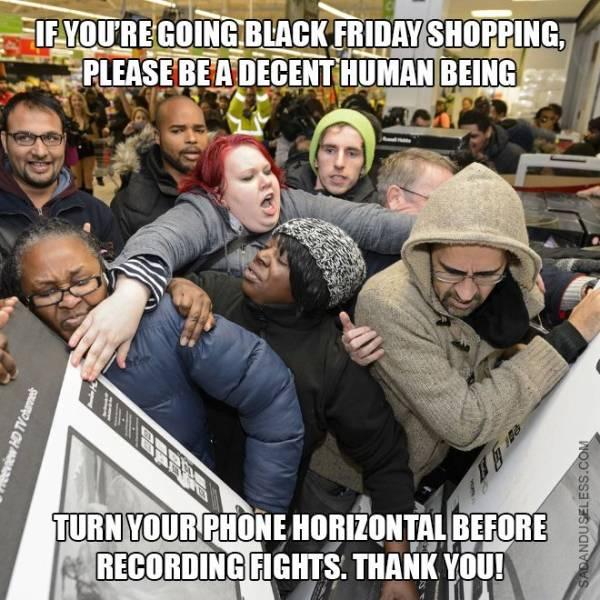Bloodthirsty Black Friday Memes