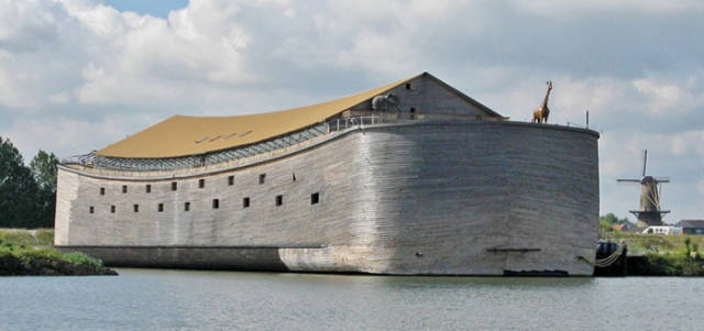 There Is A Real Life Replica Of Noah's Ark Now