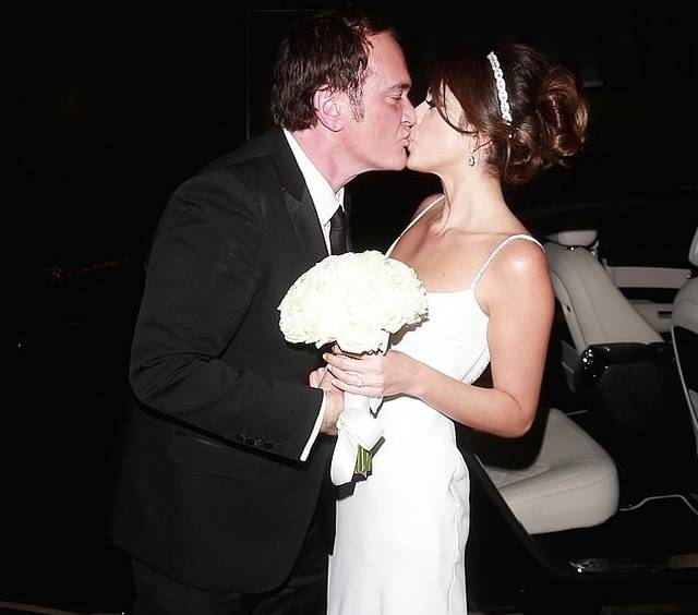 Quentin Tarantino And His New Wife, Daniella Singer, Who Is 20 Years Younger Than Him