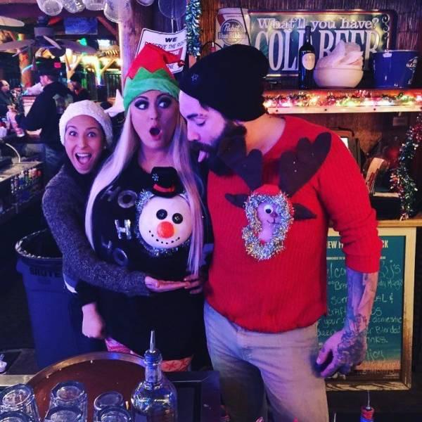 Nothing Brings Christmas Spirit Like Reindeer Boobs