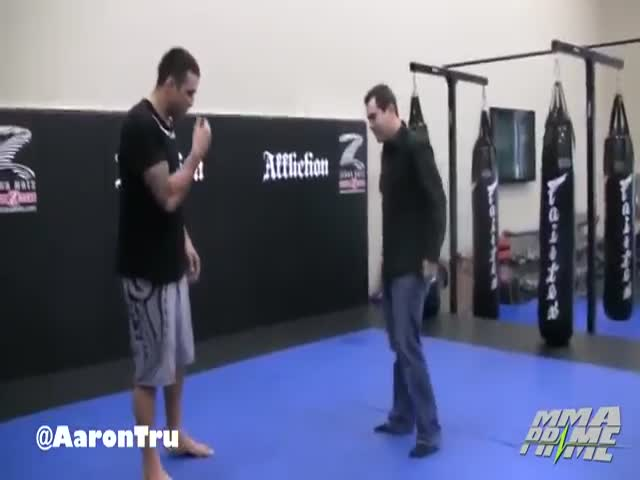 MMA Fighters Kick Pretty Hard
