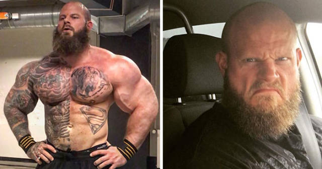 Bodybuilder Fires Back After His Photo Was Used For A Meme