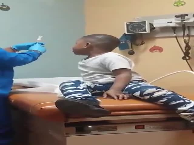This Nurse Is An Injection Genius!