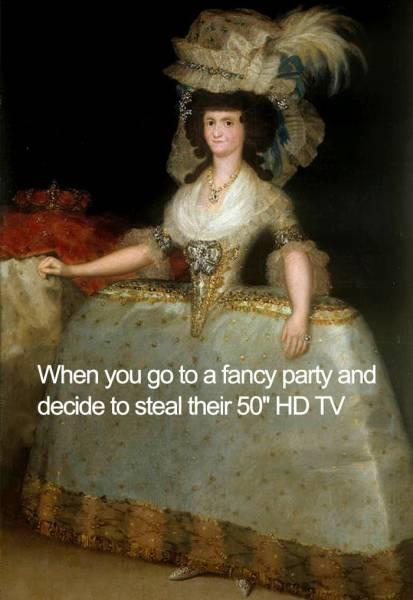 Classical Art Is Perfect Meme Material