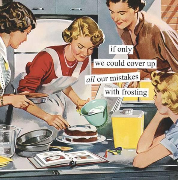 Vintage Pictures + A Bit Of Sarcasm = Perfect Calendar