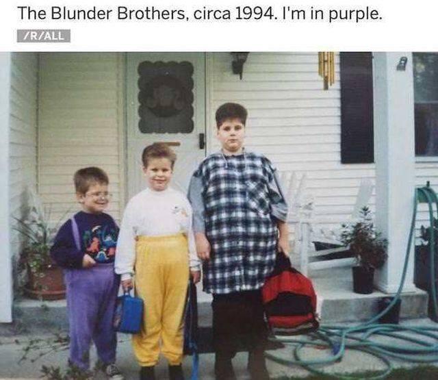 Ah, That Awkward Childhood Phase…