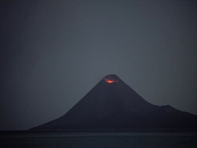 Volcanic Eruption Is An Incredible Sight!