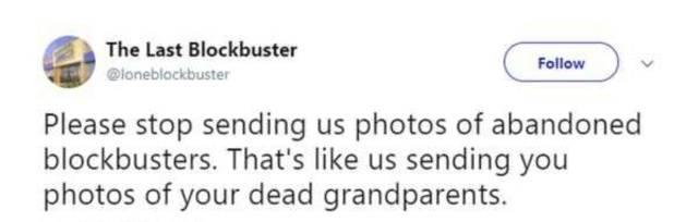 The Last Blockbuster Still Tweets!