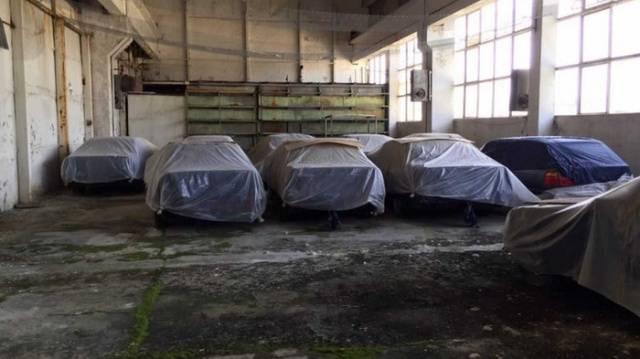 Bulgarian Warehouse Had Eleven Brand New 1994 BMW 5 Series (E34)