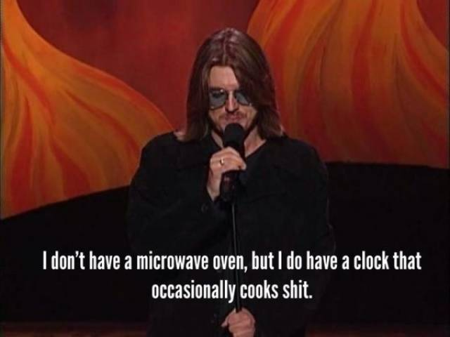 Mitch Hedberg Was The Originator Of Shower Thoughts