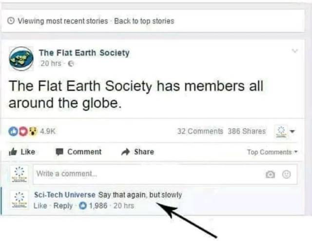 Some…Questionable Things Flat Earthers Say