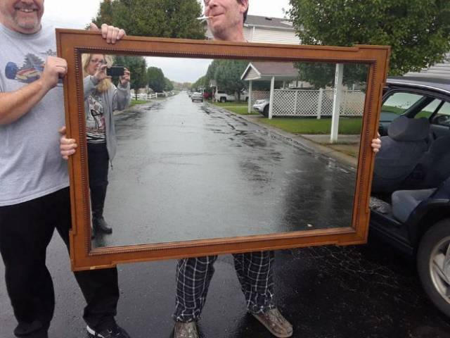 Why Is It So Hard To Sell A Mirror?