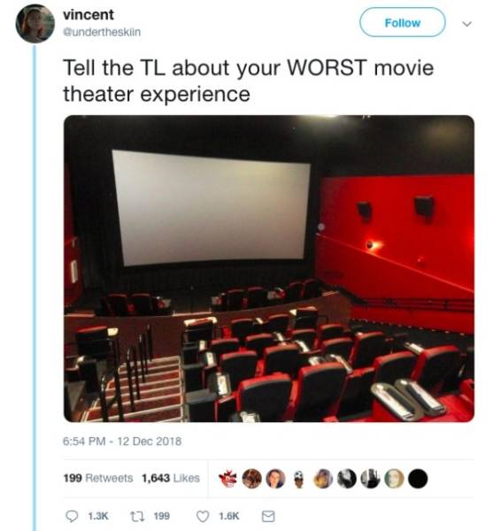 Some People Have Had Enough Of Movie Theaters…