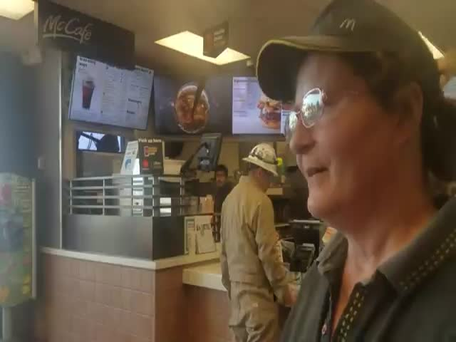 McDonald's Employee Gets The Biggest Gift Of Her Life
