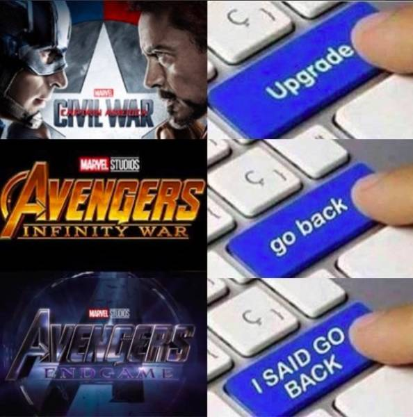 """Avengers"" Memes That Ain't Gonna Save The World"